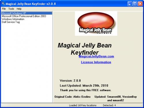 Magical Jelly Bean Keyfinder 2.0.1