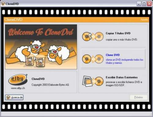 CloneDVD 2.9.2.2 - Download 2.9.2.2