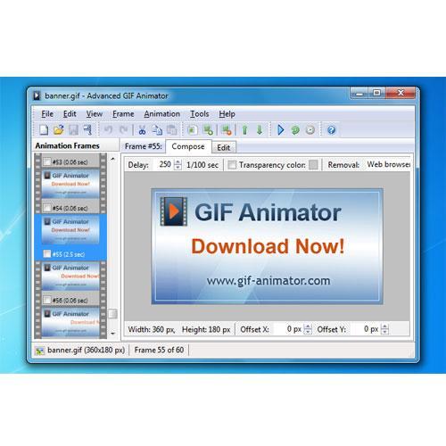 Advanced Gif Animator 3.0