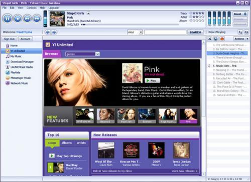 Yahoo Music Engine 1.0