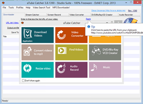 aTube Catcher - Download 3.9.7986