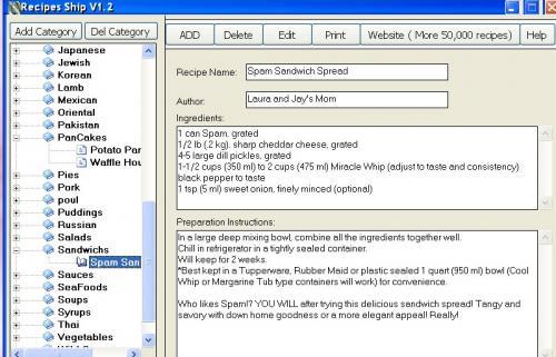 Recipes Ship 1.2 - Download 1.2
