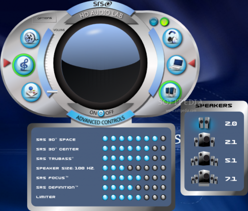 SRS Audio Sandbox 1.9.0.4 - Download 1.9.0.4
