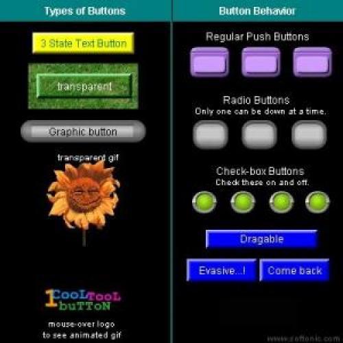 1 Cool Button Tool Dual (Java & Flash) 5.0