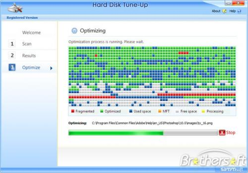 Hard Disk Tune-Up 1.0