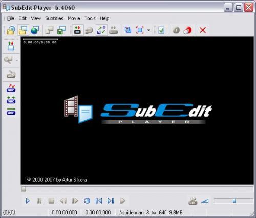 SubEdit Player Build 4072