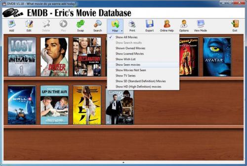 EMDB (Eric's Movie Database) 0.80