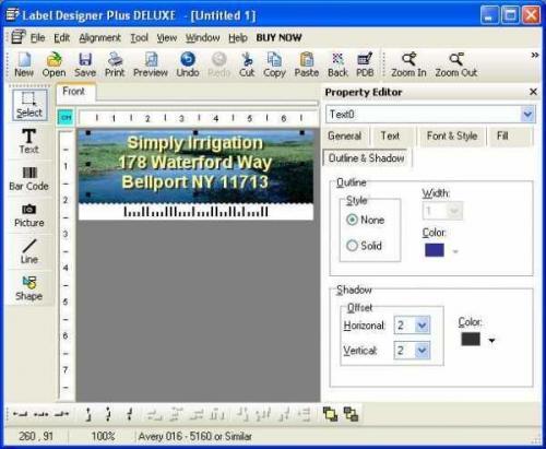 Label Designer Plus DELUXE 8.5.0.0