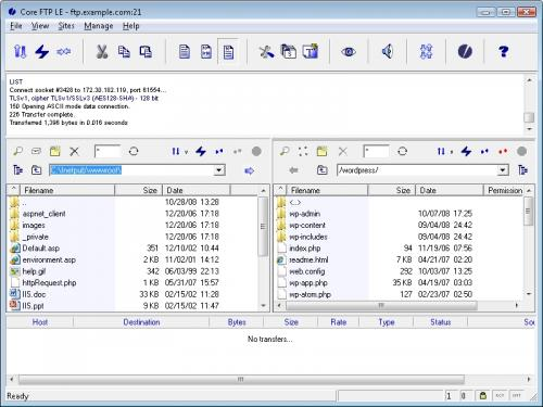 Core FTP Lite 2.0.1502 Beta