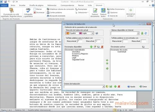 IdiomaX Office Translator 5.0