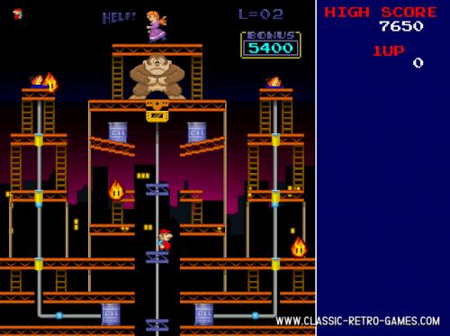 Donkey Kong Remake 1.0 - Download 1.0